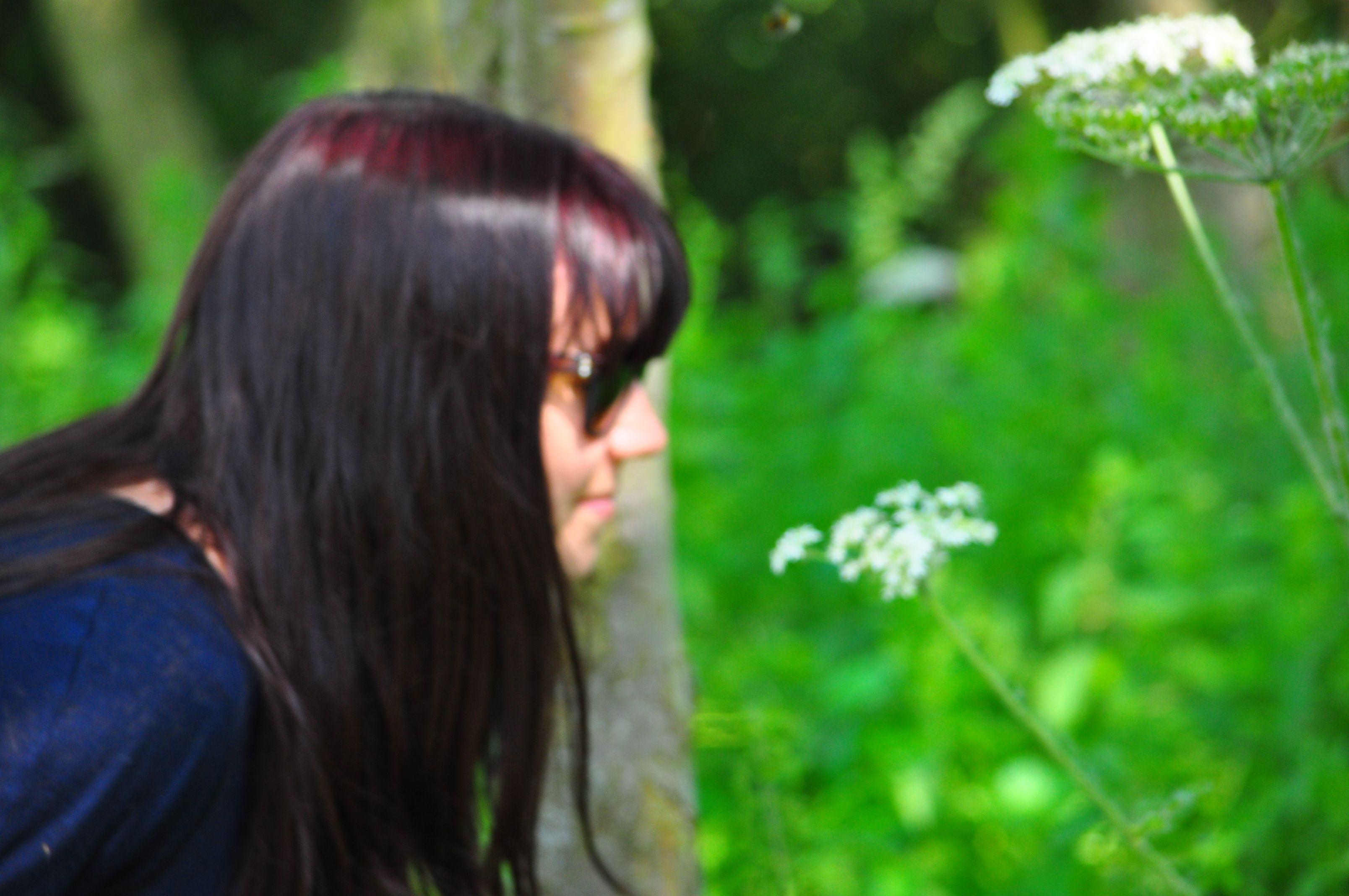 Exploring nature through our sense of smell long hair