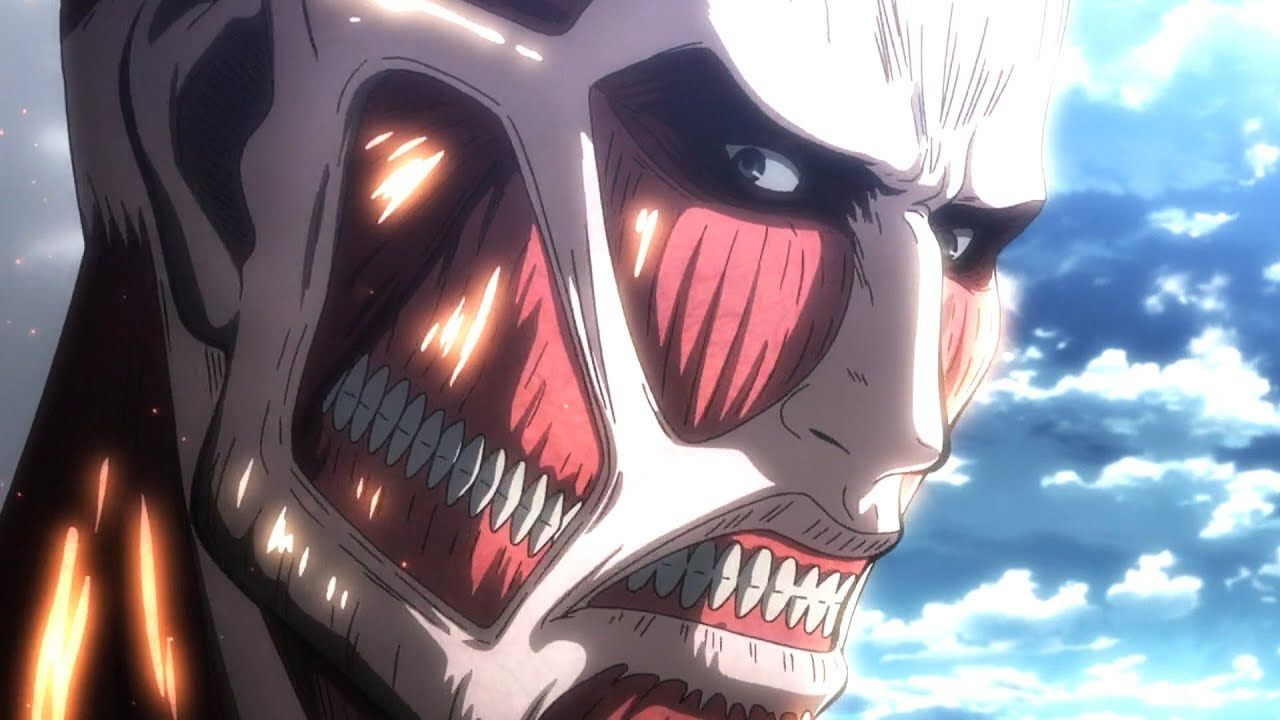 Eren Vs Colossal Titan Full Fight Attack On Titan Season 3 Part 2 Epis Attack On Titan Attack On Titan Season Titans