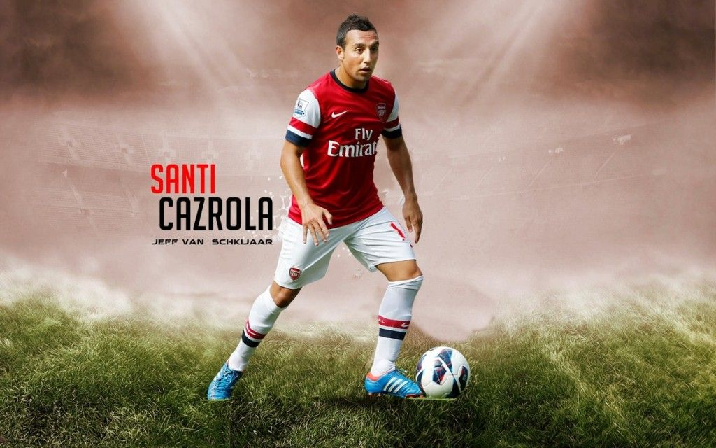 Santi Cazorla 2012-2013 Arsenal Best HD Wallpapers