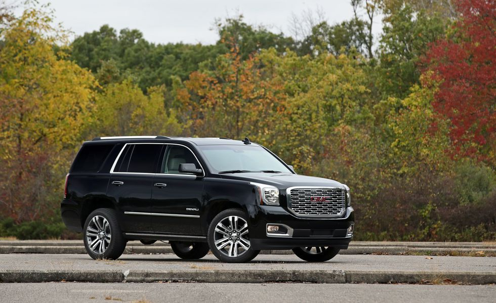 2018 Gmc Yukon Denali 4wd 10 Speed Automatic Quick Test