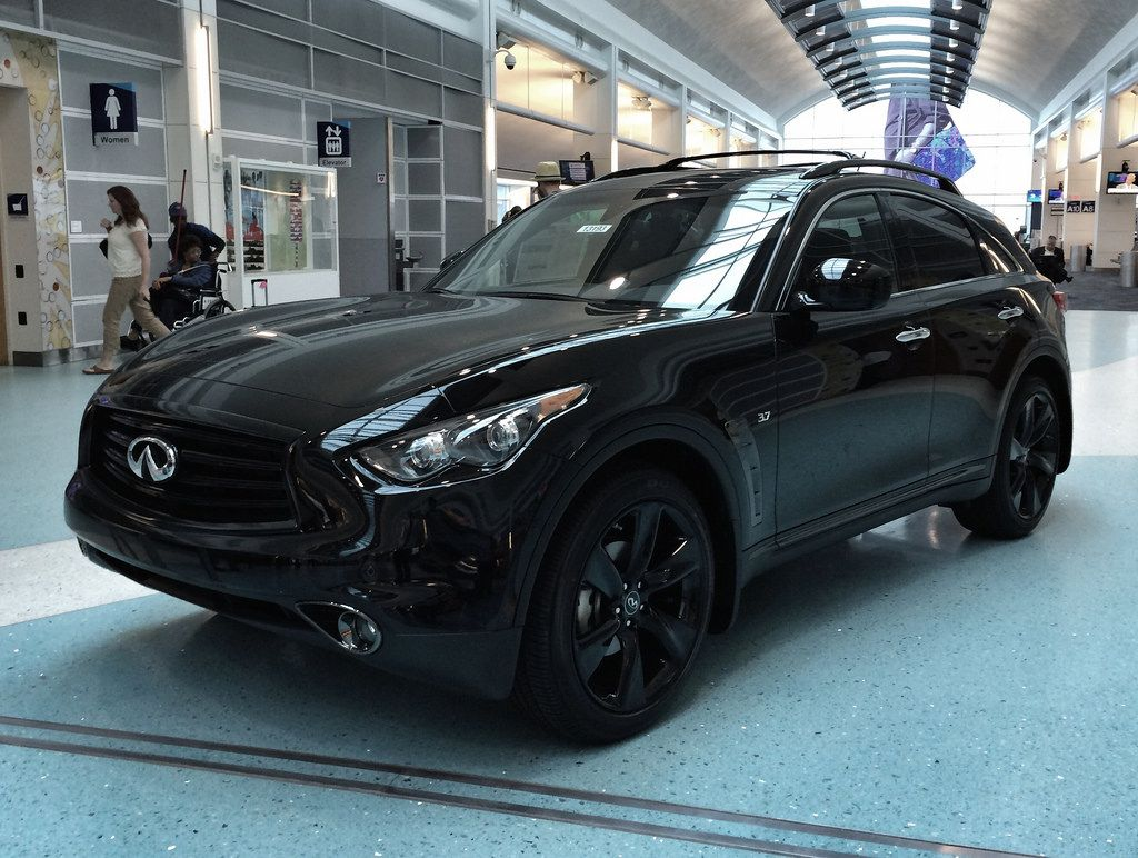 Infiniti fx35 blacked out infiniti obsessed pinterest cars and choppers