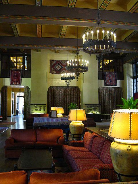 The Ahwahnee Hotel  Yosemite hotel, Classic interior, Interior
