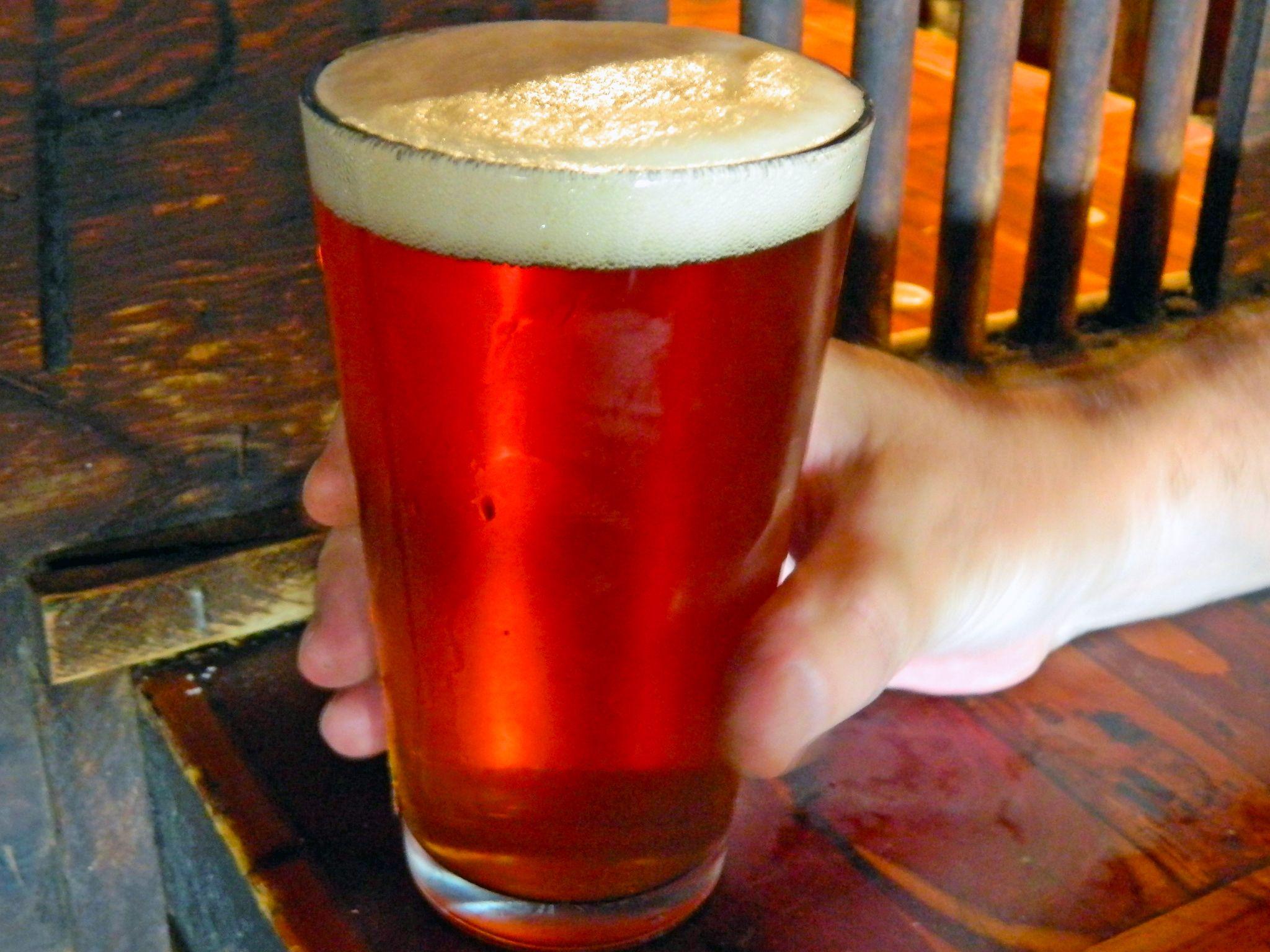Amber Ale At Pinnacle Peak Patio Steakhouse.