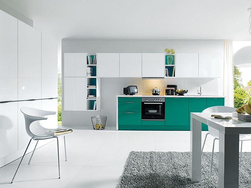 Superb  TwelveDaysOfKitchens Teal us a showstopper in any kitchen colour scheme Sch ller Glasline