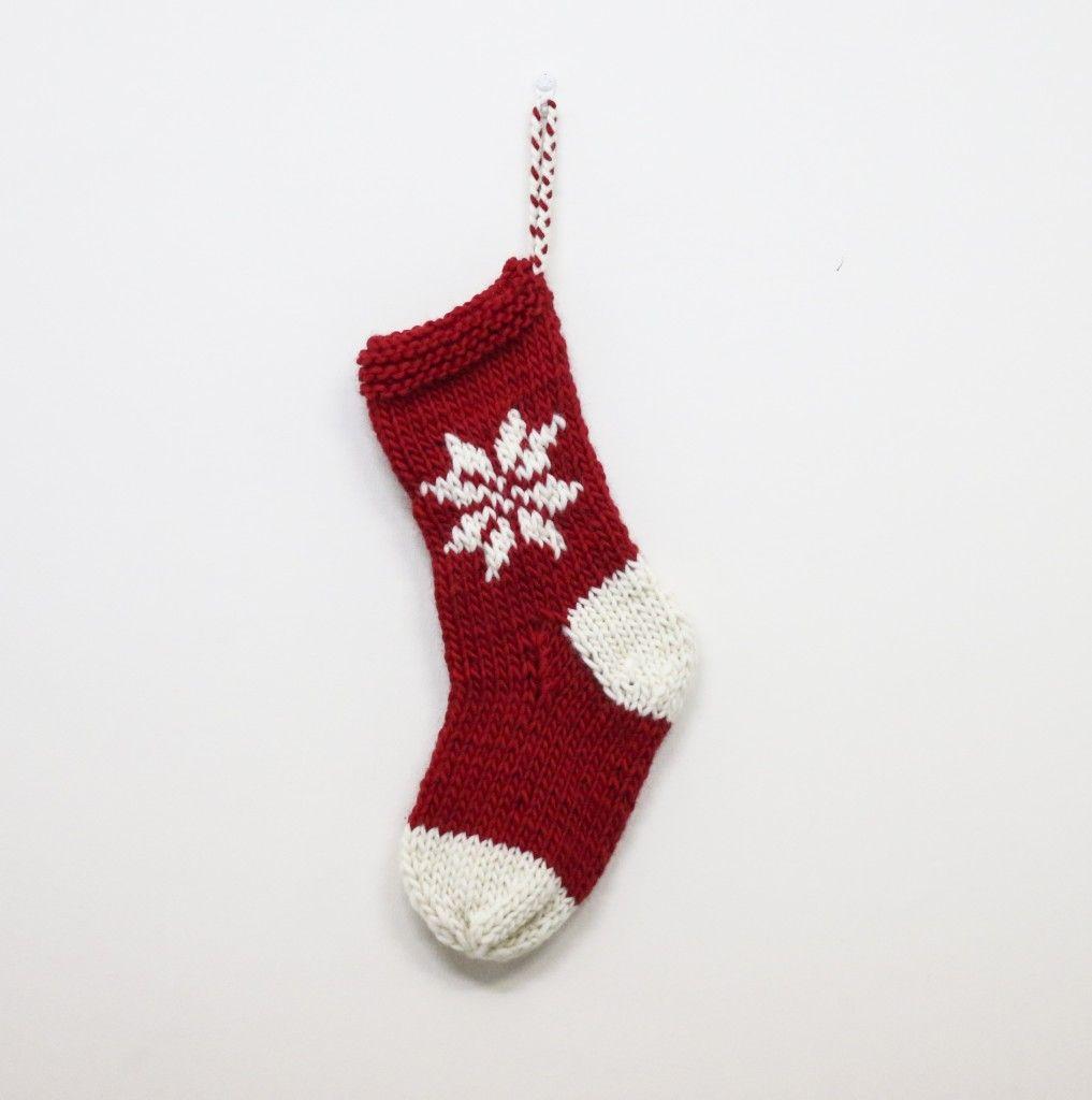 Patrón gratuito: Calcetín de navidad | Calcetín de navidad, Estoy ...