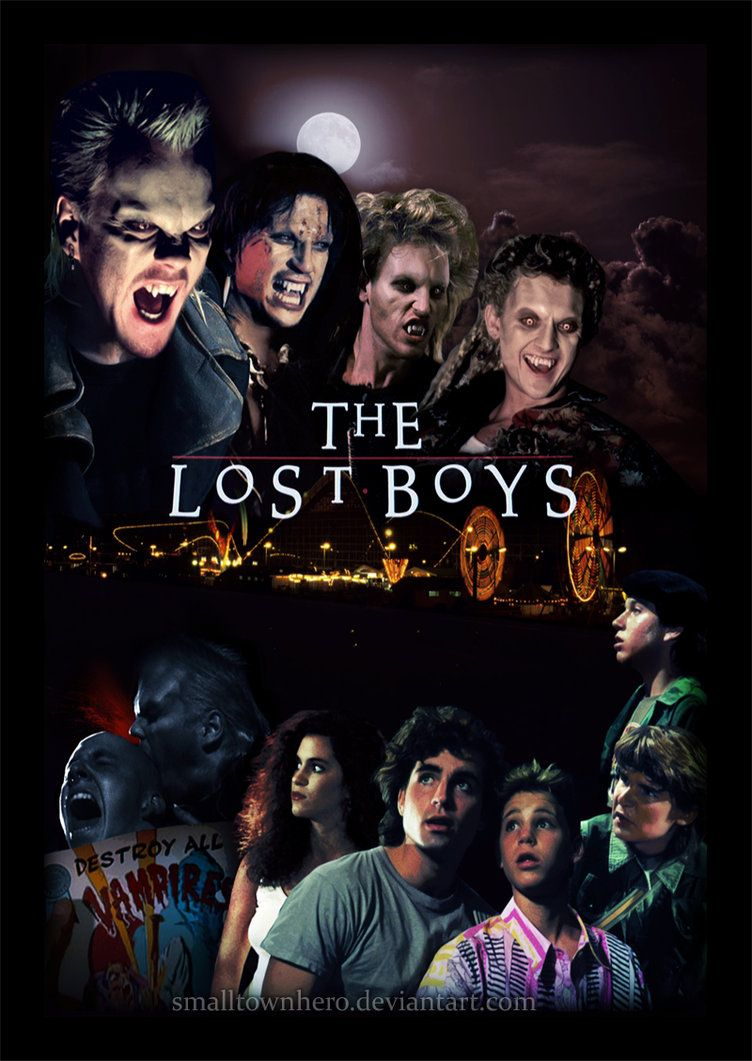 David Lost Boys Neca Figure Initiation S Over Michael Time To Join The Club David Lost Boys Movie Boys Posters Lost Boys