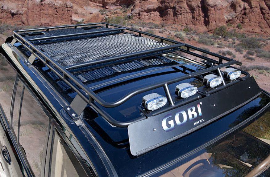 Gobi Toyota Land Cruiser 100 Series Stealth Roof Rack