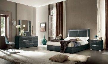 Versilia Bedroom Set with Storage and Lights | Alf Da Fre ...
