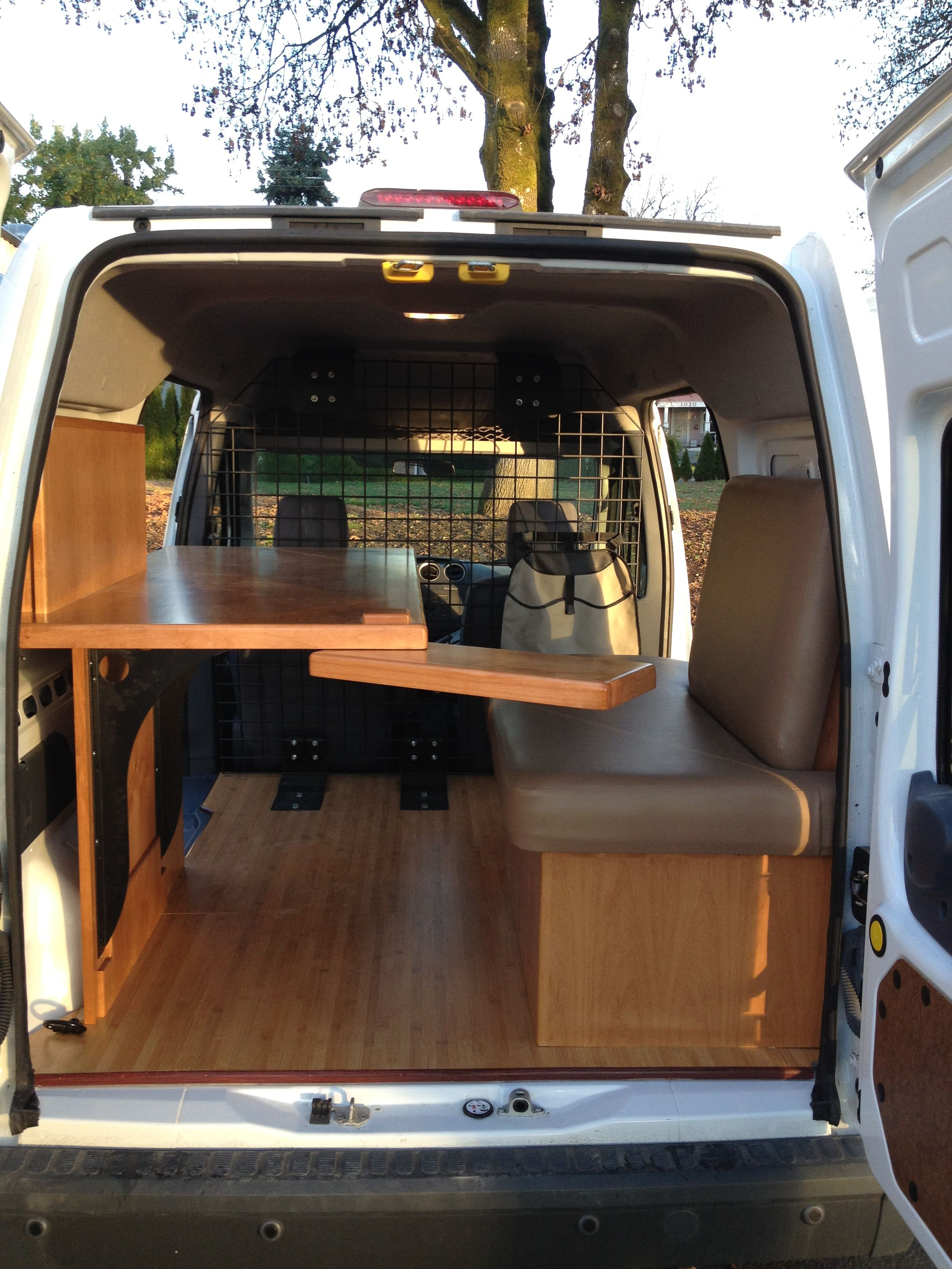 Pin by Oscar the Cat on Car  Mobile Office  Cargo van