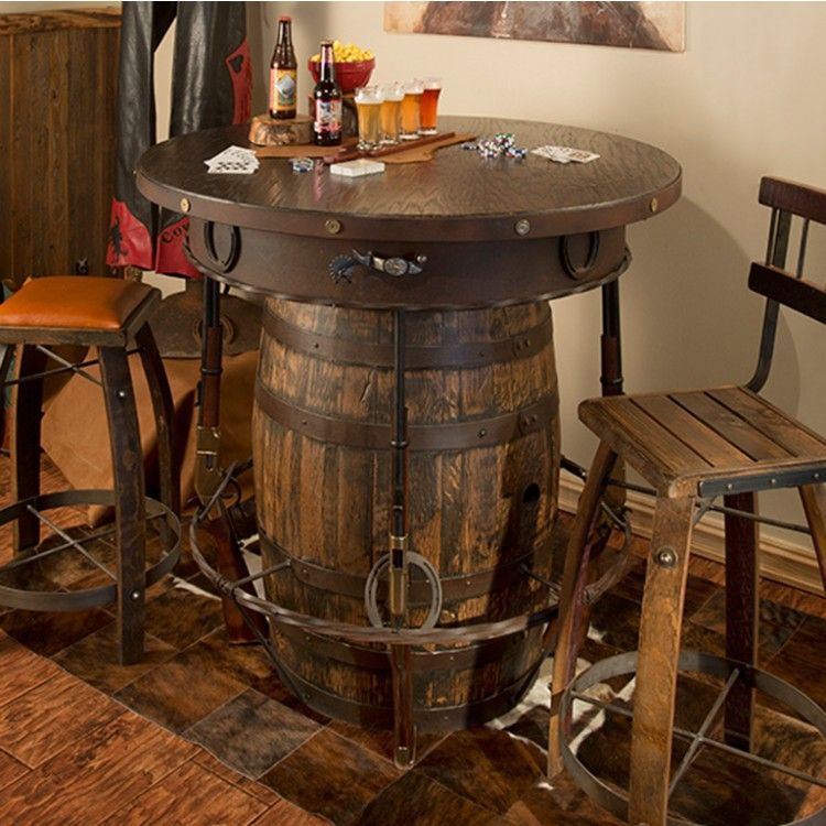 Jack Daniels Whiskey Barrel Table And Chairs Designs