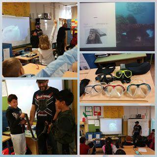 ¡El mar y su ecosistema granadino dentro de clase! Una experiencia única para conocer el mundo marino