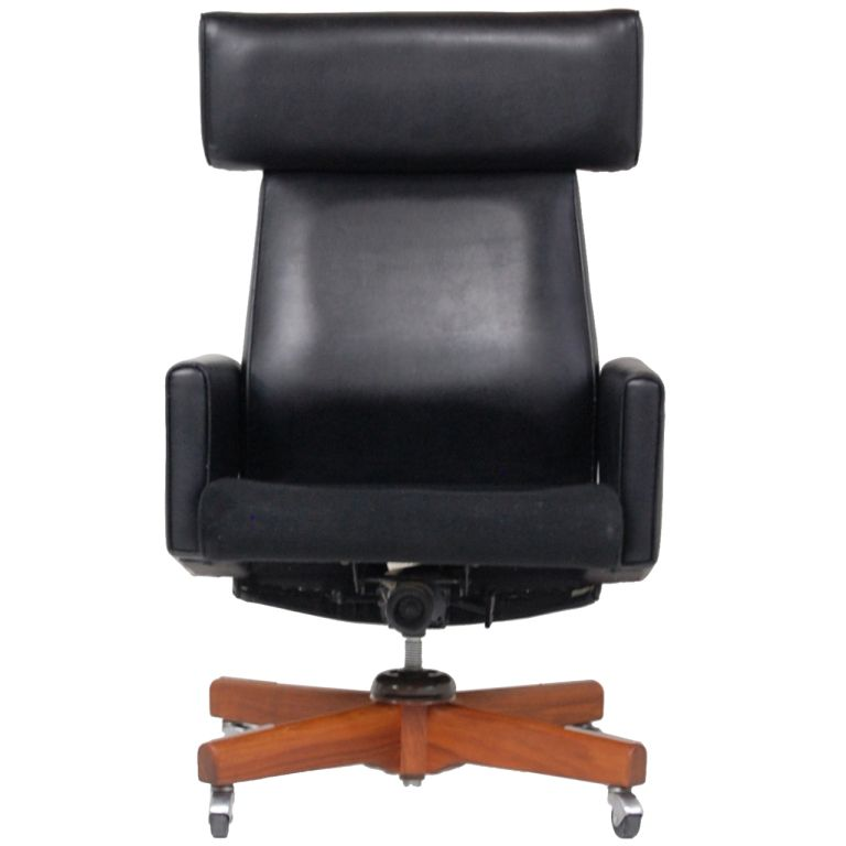 "jens risom ""ox"" desk chair 
