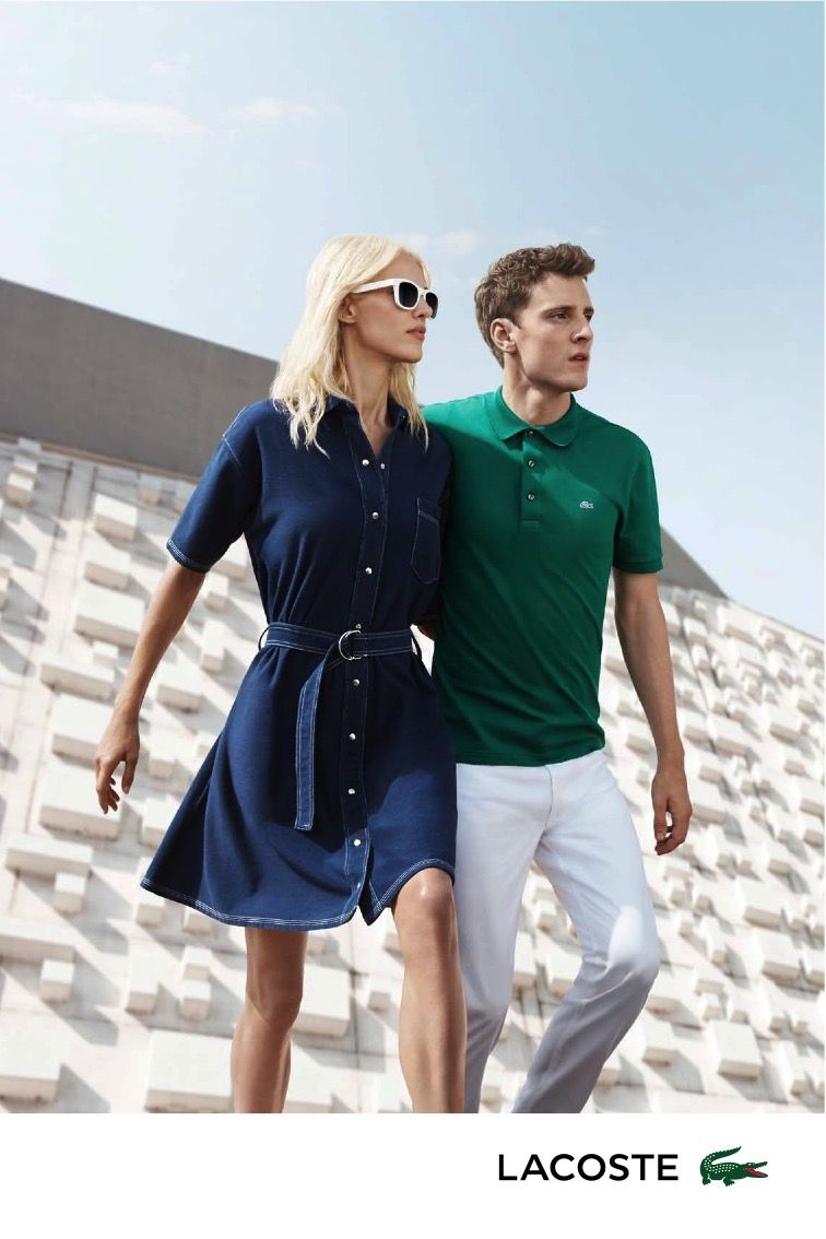 d59844c89ea5 Lacoste Delivers Fitted Classics for Spring Ads