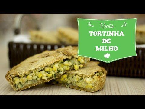 Quiche de Alho Poró Vegano - YouTube