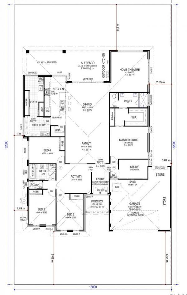 Residential Clustered Standard Scullery Together Activity Bedrooms Kitchen Bedroom Th Kitchen Layout Plans Kitchen Layout Interior Design Living Room