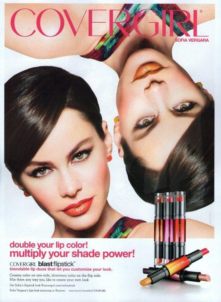 2012 CoverGirl Ad Page SOFIA VERGARA /J CoverGirl