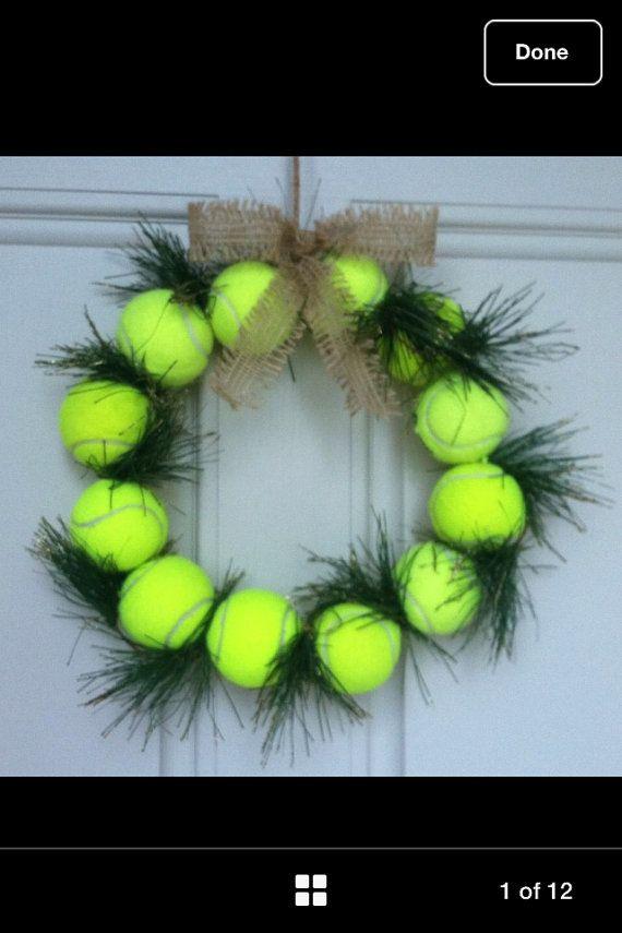 Tennis ballon guirlande