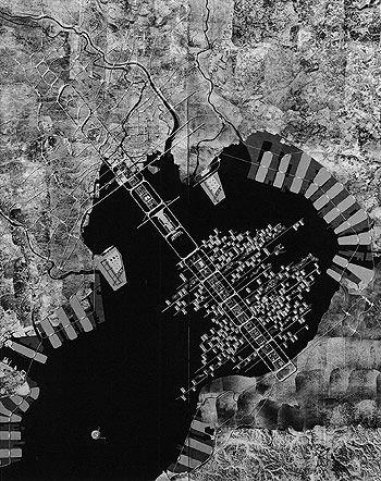 Plan for Tokyo (1960)   Kenzo Tange