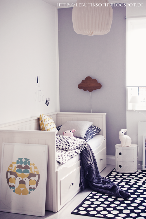ikea hemnes tagesbett dekoration kids spaces pinterest butiksofie hemnes. Black Bedroom Furniture Sets. Home Design Ideas