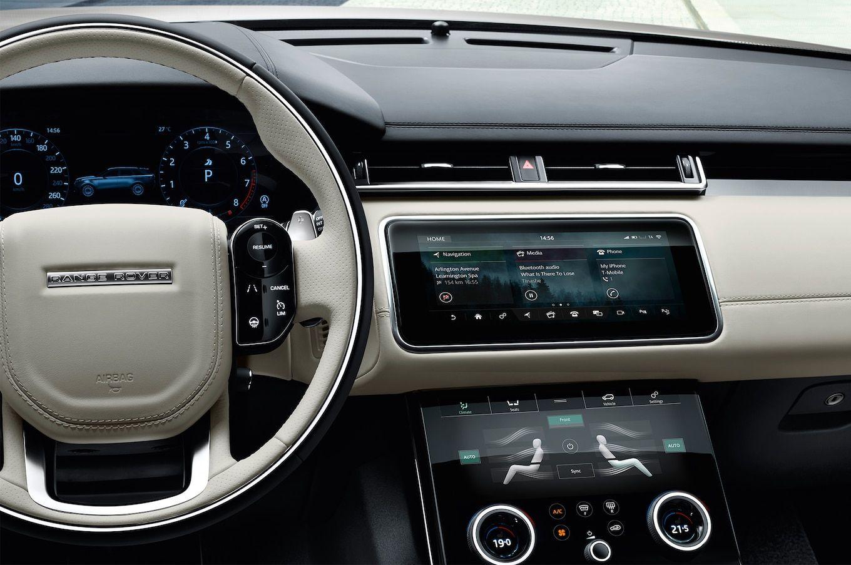 Range Rover Velar interior (met afbeeldingen) Interieur