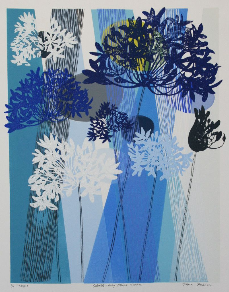 Woodblock Monoprints « Tessa Pearson | Flora & Flowers Art ...