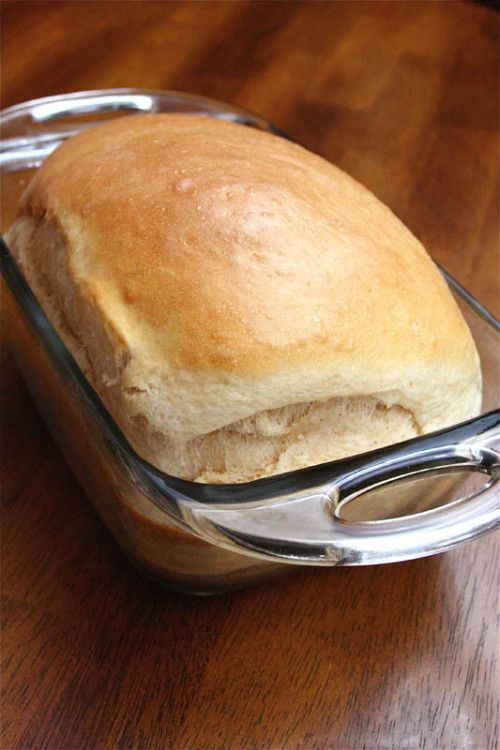Homemade Sandwich Bread.