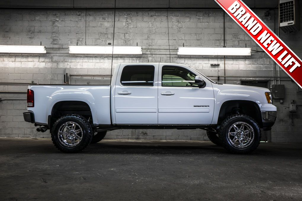 2012 gmc sierra 1500 slt 4x4 truck with brand new 6 fabtech performance lift with 20 moto. Black Bedroom Furniture Sets. Home Design Ideas