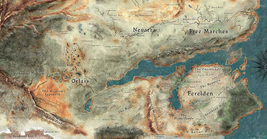 Thedas World Map Google Search I M The Map Pinterest Fantasy