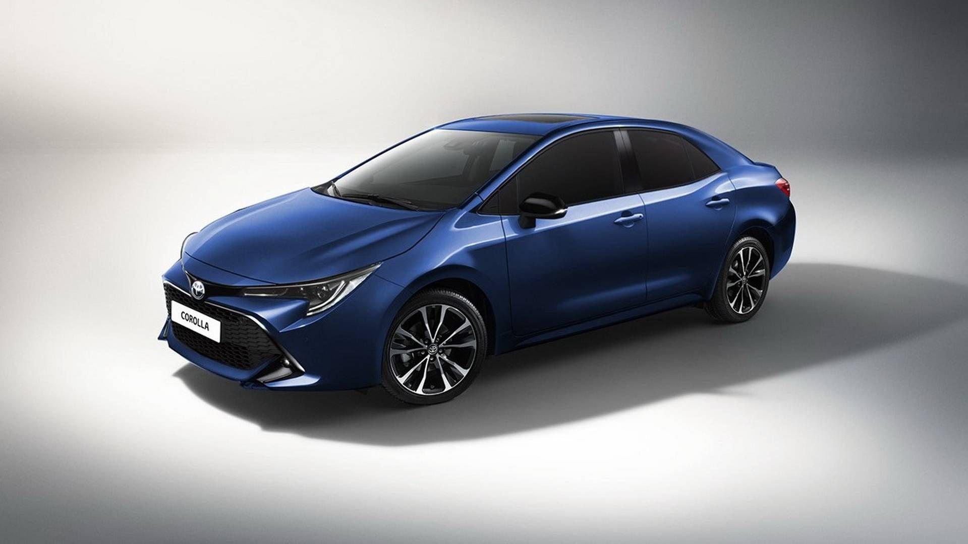Tampilan Baru Toyota Corolla Yang Terinspirasi Dari Auris