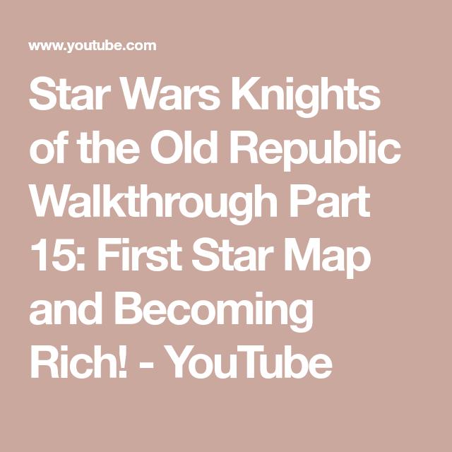 Kotor Kashyyyk Star Map Last.Star Wars Knights Of The Old Republic Walkthrough Part 15 First