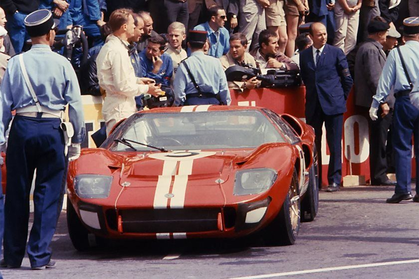 Ford Vs Ferrari Film Could Star Matt Damon As Carroll Shelby