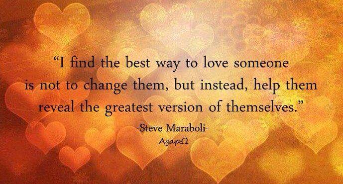 Best way to love...
