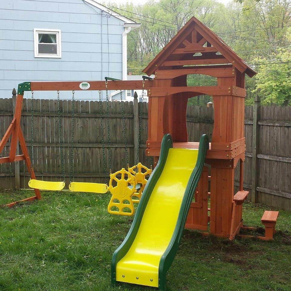 Backyard Discovery Brookfield Playset From @Walmart