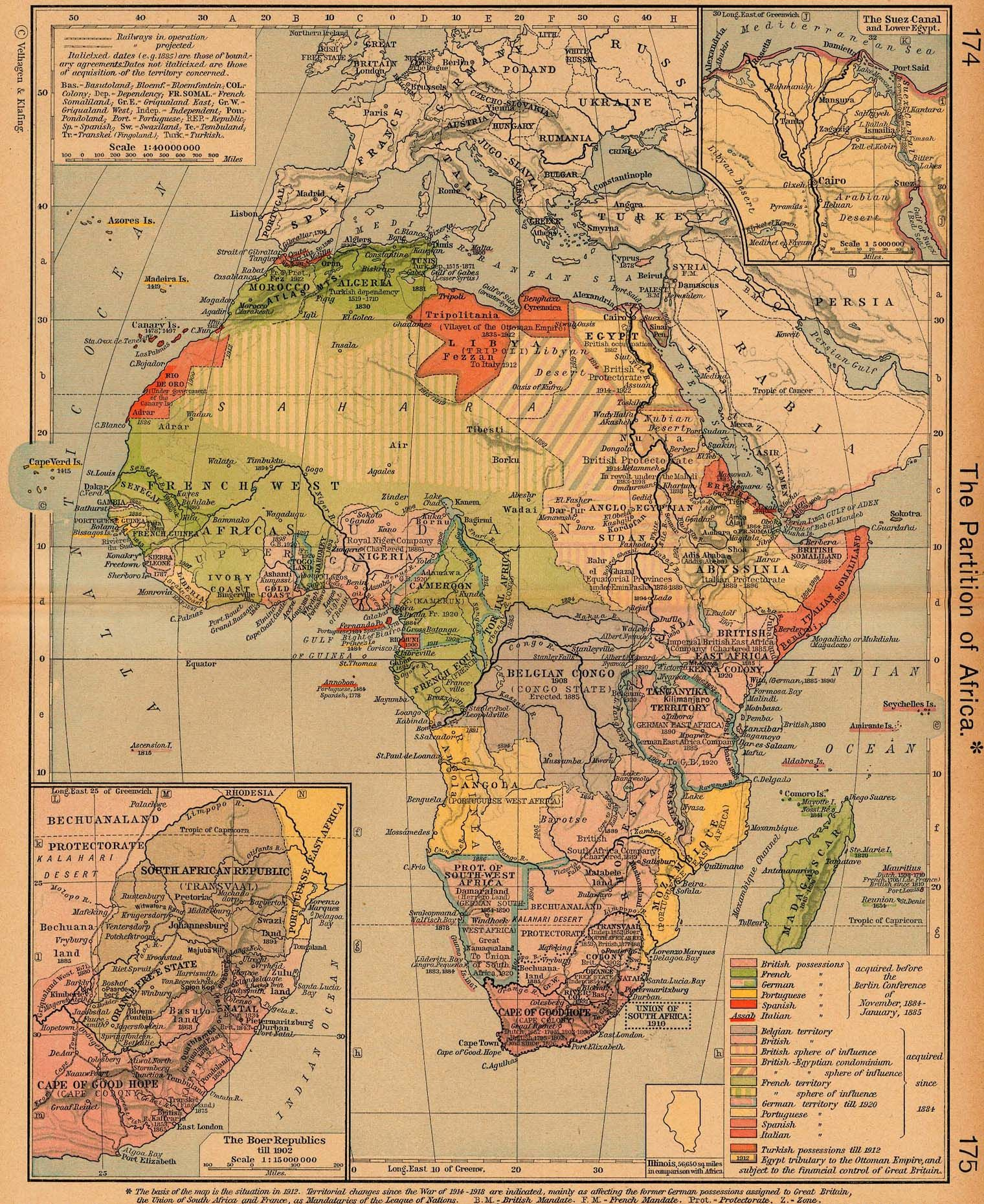 maps of colonial Africa - Alternate History Discussion Board   Maps ...