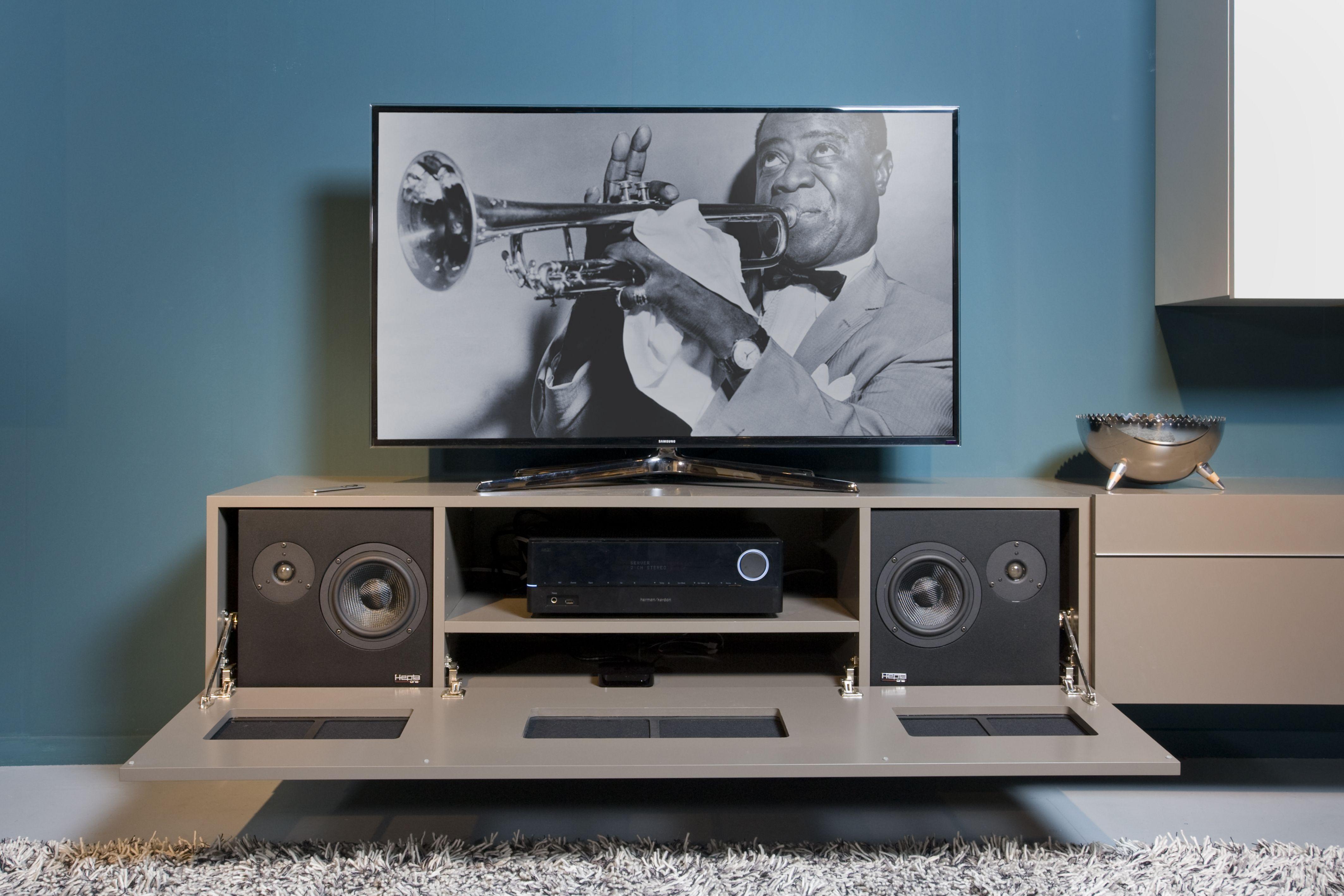 Een speciaal ontworpen HiFi soundsystem van Hepta Design