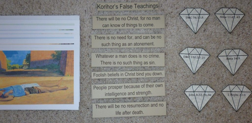 Book Of Mormon Lessons Anguish In Ammonihah Ammon The Missionary King Lamonis Father Anti Nephi Lehies Korihor