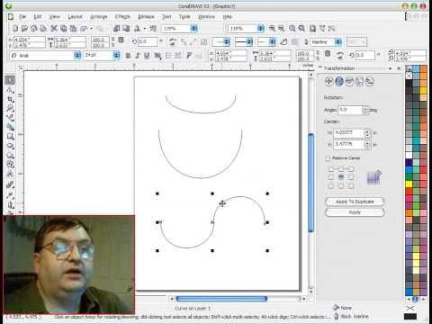 corel draw tools tutorial pdf
