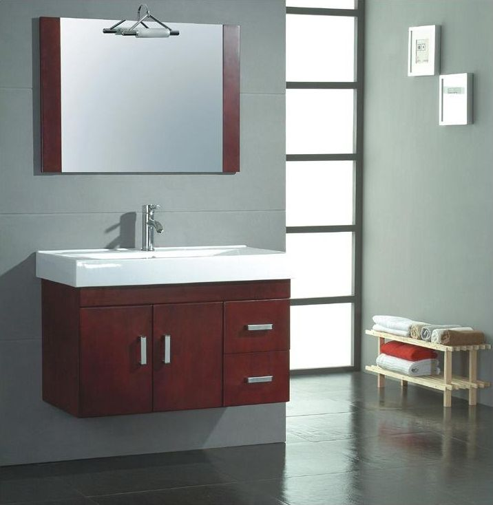 Contemporary Bathroom Ideas  Contemporary Bathroom Vanities Magnificent Small Bathroom Vanity Sink Review