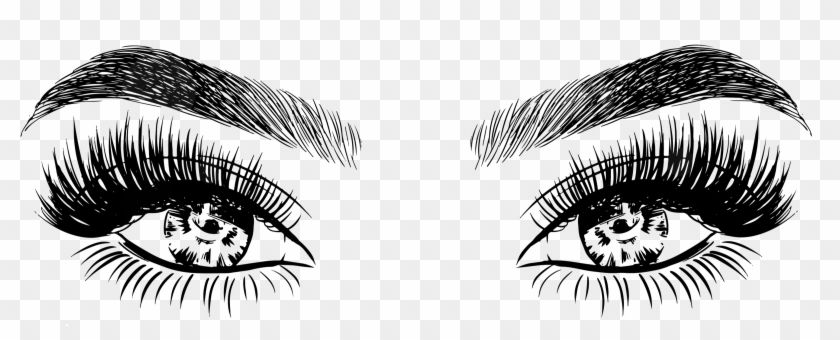 Find Hd Lashes And Eyebrow Png Eyelashes Drawings Transparent Png To Search And Download More Free Transparent P Eyelashes Drawing Lips Drawing Lashes Logo