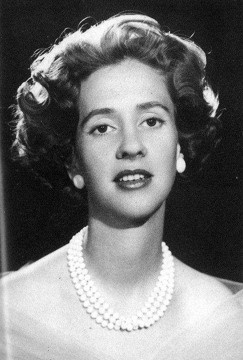 Queen Fabiola of Belgium.