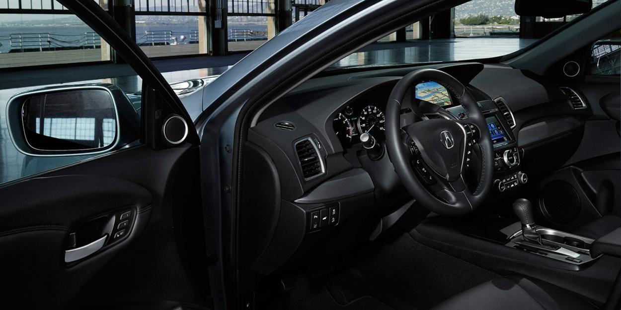 Black Ebony 2017 Acura Rdx Interior