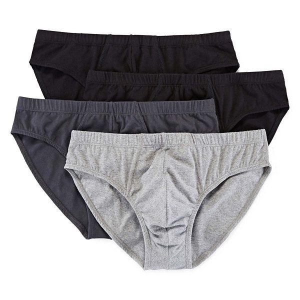 b42a0f8bb994 Stafford® 4-pk. Cotton Stretch Bikini Briefs - JCPenney | clothes in ...