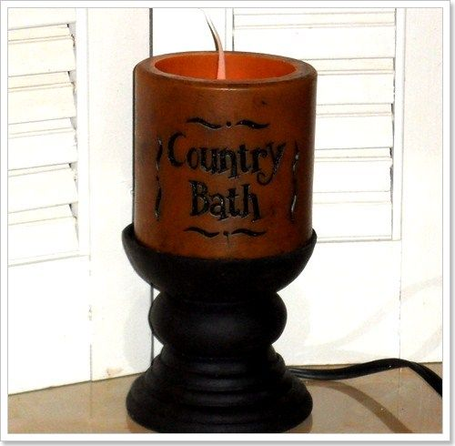 Scented Wax Cylinder COUNTRY BATH Lamp-Country Bath