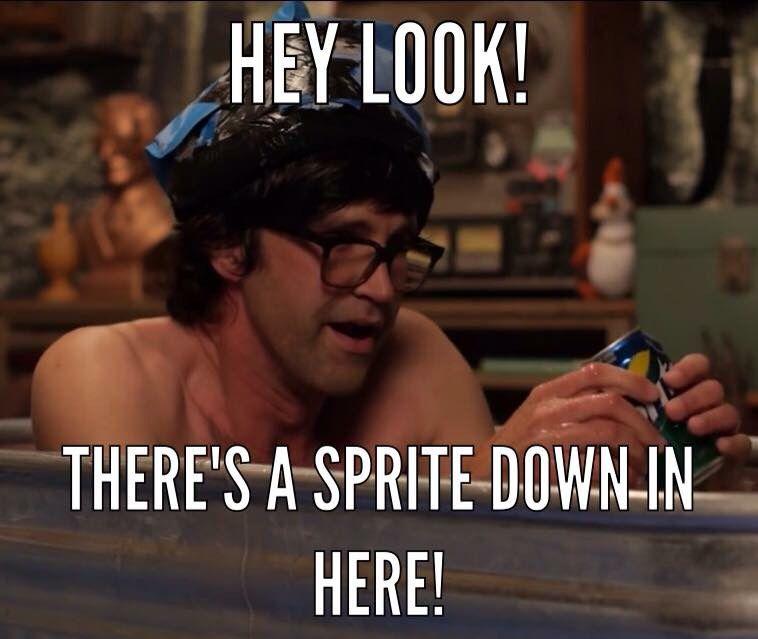 Funny Meme Links : Rhett and link ice bath challenge sprite probably the