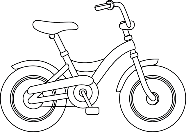 Une bicyclette ausmalbilder fahrzeuge pinterest - Dessin bicyclette ...