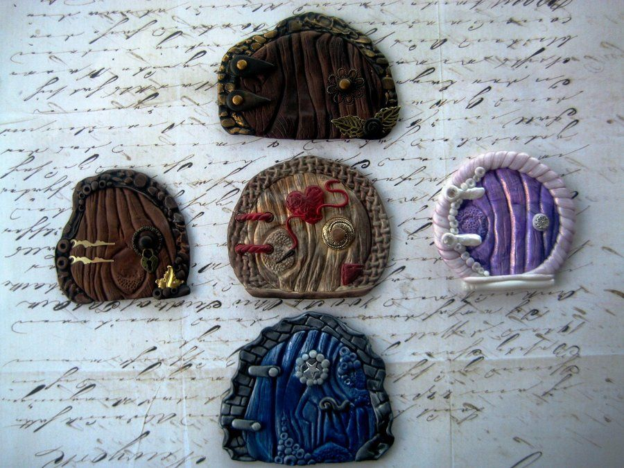 Polymer Clay Fairy Portals