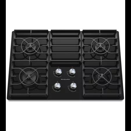Kitchenaid Kgcc506r Build Com In 2020 Gas Cooktop Kitchen Aid Glass Cooktop