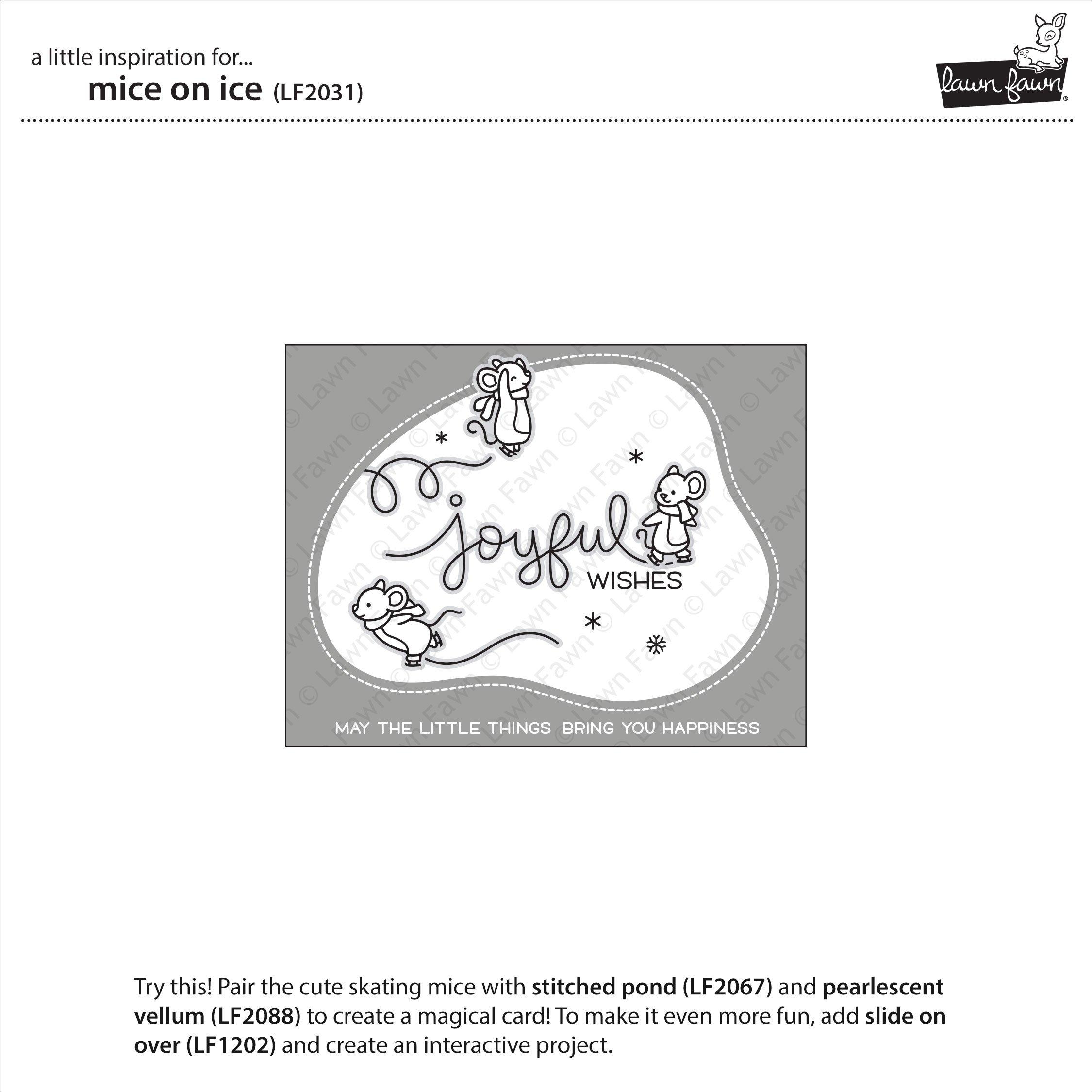 Lawn Fawn Mice On Ice에 대한 이미지 검색결과