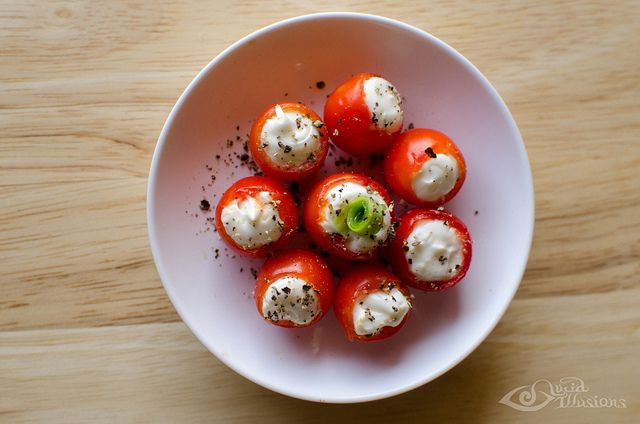 BLT Bites.  I mean these look impossibly good (and, yes, good for you).