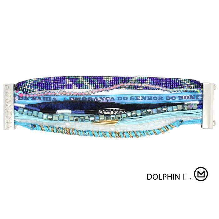 Bracelet Hipanema New Dolphin à découvrir en avant 1ère sur http://www.lilishopping.com/fr/37_hipanema !